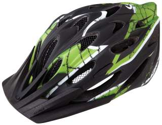 Limar 757 Mountain Bike Helmet Matt Black GREEN Small / Medium 50 57cm