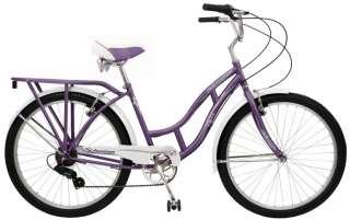 Schwinn 26 Lakeshore Womens 7 Speed Cruiser Bike 038675547704