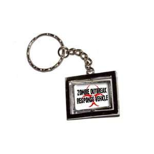 Zombie Outbreak Response Vehicle   New Keychain Ring