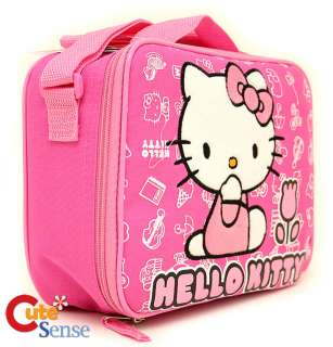 Sanrio Hello Kitty School Backpack Lunch Bag Set Tulip
