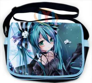 Vocaloid Hatsune Miku Messenger Shoulder School Bag 16
