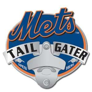 MLB Trailer Tailgater Hitch Cover   New York Mets Sports