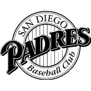 San Diego Padres MLB Vinyl Decal Sticker / 8 x 6