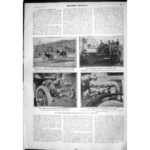 1905 Scientific American Motor Car New York Reo Bus Marmon