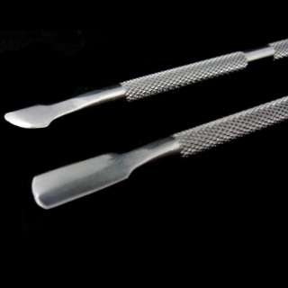Nail Art Pusher Manicure Cuticle Remover Pedicure Care Tool