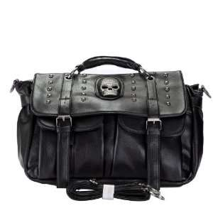 Inspired Skull Studded Satchel Handbag Shoulder Bag Everything Else