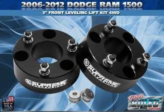 2006 2011 DODGE RAM 1500 3 LIFT LEVELING KIT 4WD 4x4 PRO
