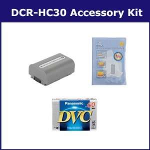 Sony DCR HC30 Camcorder Accessory Kit includes DVTAPE