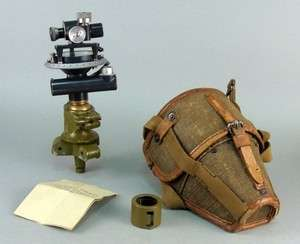 WWII SOVIET RUSSIAN ARMY MILITARY FIELD ARTILLERY TRENCH OPTICAL