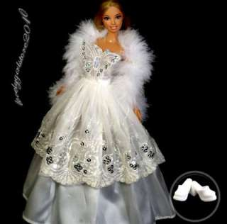 New Princess Dress Fashion Gown for Barbie Doll C012