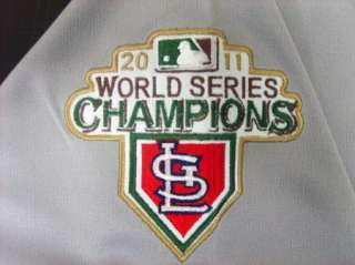DAVID FREESE St Louis Cardinals 2011 World Series Champion Patch Road
