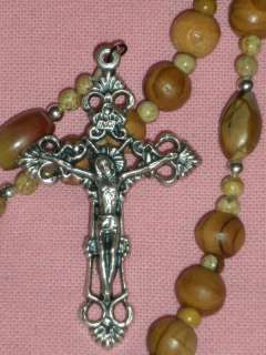 Littlest Rosary Shop NEW Olive Wood, Lady of Mt Carmel