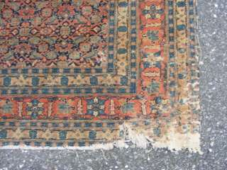 Antique Persian Hand Made Oriental Rug, 1800s