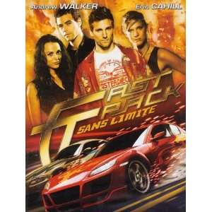 Fast Track   Sans Limite DVD: Erin Cahill, Andrew Walker