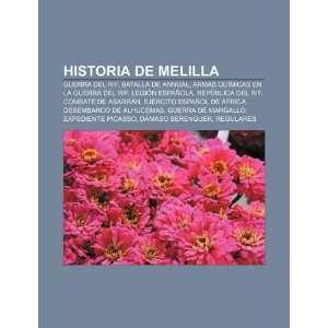 Historia de Melilla Guerra del Rif, Batalla de Annual, Armas