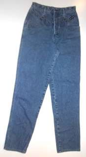 Womens 9/29 Jeans ROCKY MOUNTAIN Western Blue Denim ROCKIES 26x31