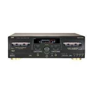 Dual Cassette Deck Component with Microphone Input MP3