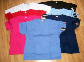 NEW DICKIES SCRUBS TOP   10506   MANY COLORS AND SIZES