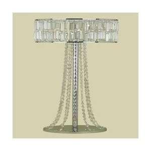 Candice Olson 4 Light Harlow Floor Lamp Crystal/Chrome