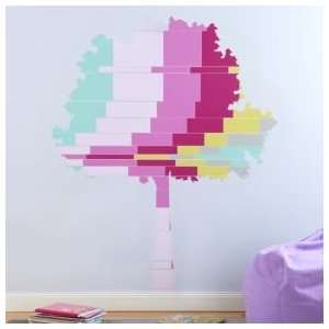Kids Room Décor Colorful Tree Wall Decals