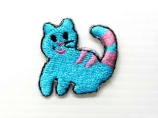 KITTEN CUTE CAT FUNNY IRON ON PATCH EMBROIDERED I300