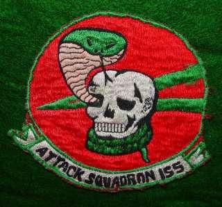 REAL VIETNAM VA 155 ATTACK SQUADRON POCKET PATCH