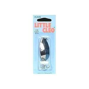 Acme Tackle   Little Cleo 2/3 Oz Nickel/Neon Blue