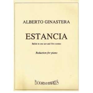 cuadros. Reducción para piano Alberto Evaristo Ginastera Books