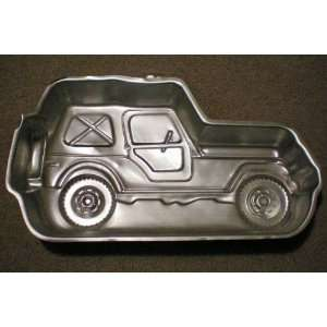 Rider Cake Pan    RETIRED    as shown [s like 4 wheel drive jeep