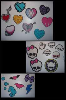 Hand Painted Wallpaper Decor Sticker Monster High Doll Draculaura