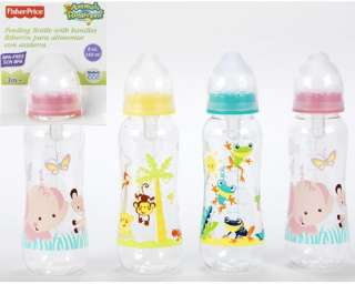 Fisher Price 8oz Bottle, Animals of the Rainforest, Baby Shower