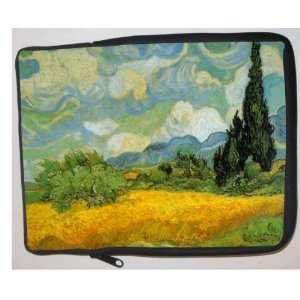 Van Gogh Art Cypresses Laptop Sleeve   Note Book sleeve