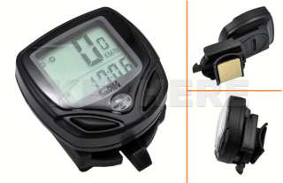 Wireless LCD Bicycle Bike Cycle Computer Odometer Speedometer Meter
