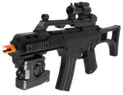 JP997 G36C Fully Automatic Electric Airsoft Rifle with Flashlight