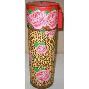 Punch Studio Floral Animal Print Wine Caddy PLUS a