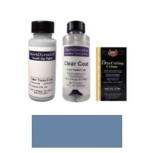 2 Oz. Crystal Blue Pearl Metallic Paint Bottle Kit for