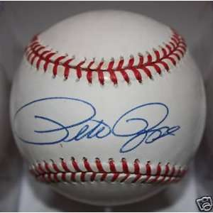Signed Pete Rose Baseball   x ONL Kit Young   Autographed