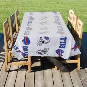 NFL Buffalo Bills White Team Logo Table Cover Sports