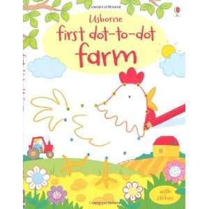 Farm (First Dot to Dot Books) (9781409534846) Felicity Brooks Books