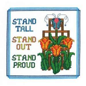 Stand Proud   Cross Stitch Pattern Arts, Crafts & Sewing