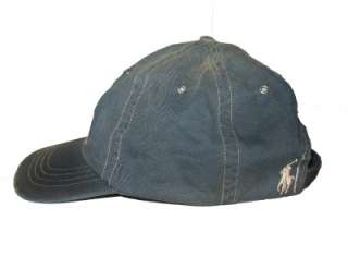 POLO RALPH LAUREN MENS FLAG PONY BALL CAP HAT one size