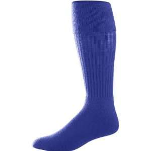 Soccer Socks PURPLE ADULT (TUBE SOCK SIZE 10 13) Sports & Outdoors