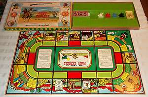 1947 Pony Express Board Game by Ideal ***MINT*** 100% Complete