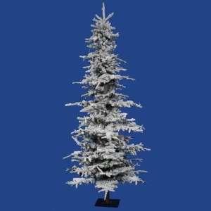 Foot Flocked Georgian Fir Christmas Tree 1075 Tips