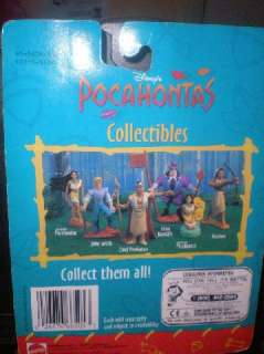 DISNEY POCAHONTAS Kocoum Mattel Action Figure Toy NIB