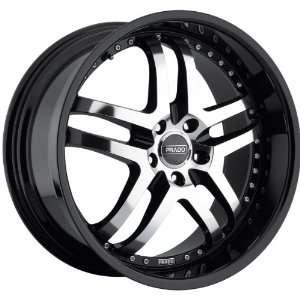 18x9.5 Prado Dante 5x115 +18mm Black Machined Wheels Rims