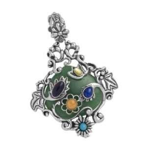 Carolyn Pollack Sterling Silver Multi Gemstone Garden