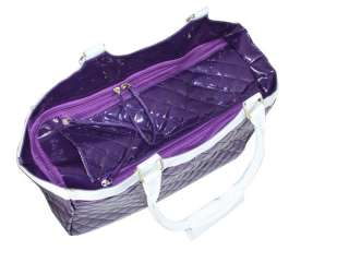 Petcare Pet Dog Cat Bag Carrier Tote Lady Handbag Purple/Pink/Black M