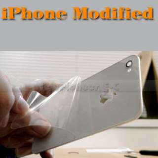 Luminescent LED Light Mod Kit Glowing Logo Case for iPhone 4G+Tools