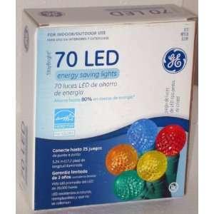 . LED Crystal Pearl String Lights   Multi Color Bulbs